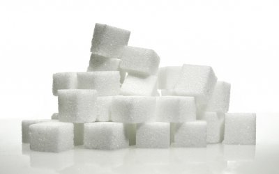 sugar cubes - sugar can have a negative impact on your smile