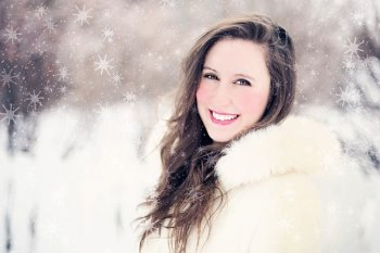 White Smile in the Snow